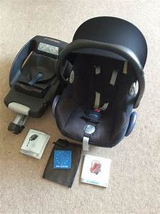 Maxi Cosi Cabriofix Isofix Base : maxi cosi cabriofix car seat from newborn group 0 easyfix isofix base includes instructions ~ Buech-reservation.com Haus und Dekorationen