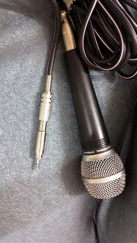 Connect Xlr Microphone Amplifier Sound Design Stack
