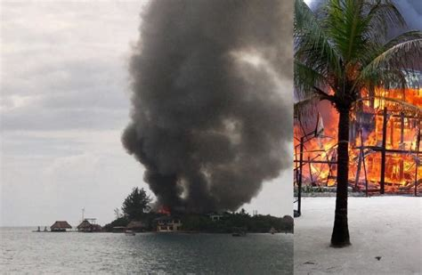 rated caribbean cruise attraction suffers devastating fire