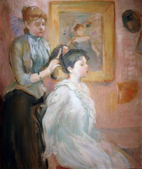 La Berthe Morisot by File Berthe Morisot La Coiffure 1894 Jpg Wikimedia