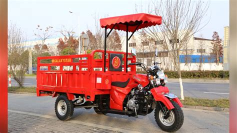 Three Wheel Motorcycle Scootor With Roof Tricycle