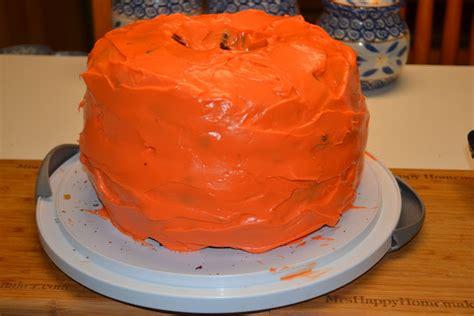 pumpkin carrot cake shaped   pumpkin  happy homemaker