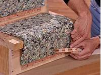 installing carpet on stairs How to Install a Carpet Runner on Wooden Stairs   how-tos ...