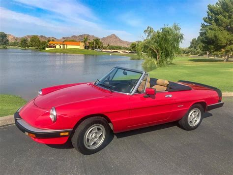 1990 Alfa Romeo Spider by 1990 Alfa Romeo Spider For Sale 2150656 Hemmings Motor News
