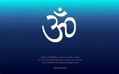 Wallpapers Aum Calligraphy Desktop Sanskrit Fond Ecran