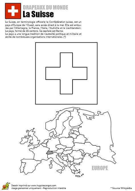 jouer a des jeux de cuisine coloriage découverte europe drapeau la suisse