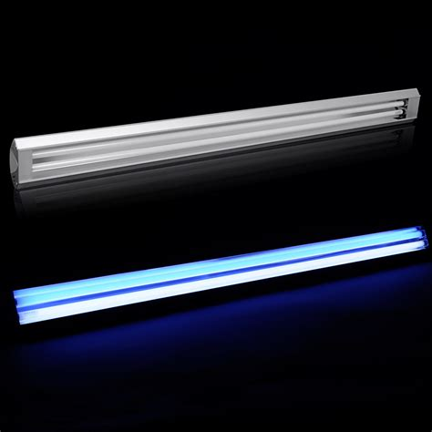 aquarium led t5 ho light marine reef fish coral aqua tank blue white 60 90 120cm ebay