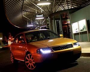 Audi A3 Phase 2 : 2 feux phare avant devil eyes a led pour audi a3 8l phase ~ Medecine-chirurgie-esthetiques.com Avis de Voitures