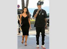 Tyga and Demi Rose spotted shopping in Cannes