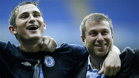 Frank Lampard: Roman Abramovich's arrival at Chelsea made ...