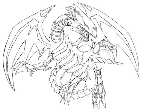 blue eyed white dragon outlines  rmd  deviantart