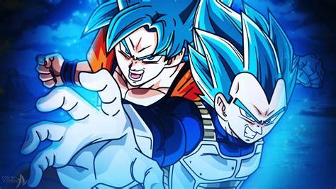 Cool Pokemon Ball Wallpapers Goku Blue And Vegeta Blue Dragon Ball Super By Azer0xhd On Deviantart