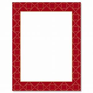 red damask frame christmas letter papers current catalog With letter paper frame