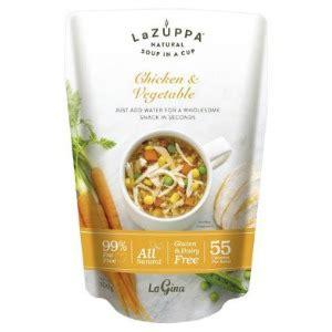 la zuppa soup   cup single serve range