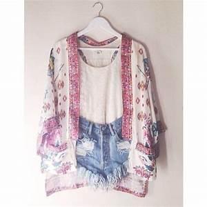 Jacket kimono kimono fashion kimono pink white red coachella coachella coachella ...