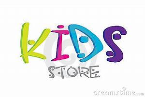 Kids Logo Design Stock Images - Image: 18095294