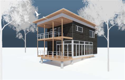 prefab green modern homes green cabin kits passive solar