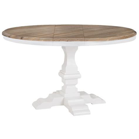 table ronde cuisine pied central tavolo tondo allungabile shabby mobili provenzali shabby