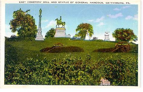 pennsylvania gettysburg east cemetery hill hancock