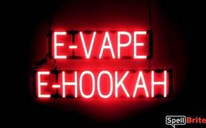 E VAPE E HOOKAH Signs