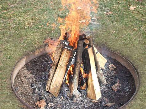 build  campfire light  perfect fire