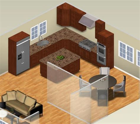 examples   shaped kitchen layouts   small