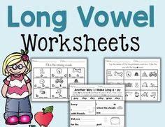 long vowel worksheets images vowel worksheets