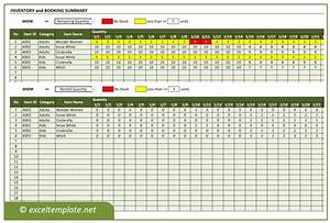 rental property spreadsheet template inventory and booking manager for rental business
