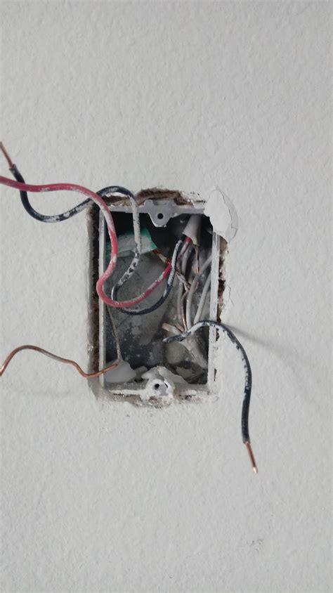 electrical installing a light fan combo switch