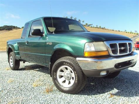 ford ranger 4 door purchase used 1999 ford ranger 4x4 step side four door