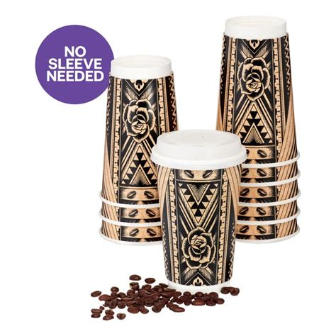 【stylish cups】these 16oz to go coffee cups are of excellent quality and your guests will definitely be impressed. Uniquely J Disposable Coffee Cups with Lids, 16 Oz, 16 Ct - Walmart.com - Walmart.com