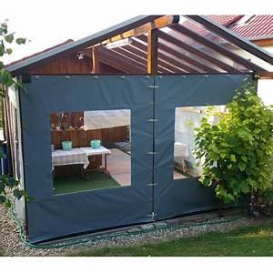 Windschutzplane mit fenster wwwabs planende for Garten planen mit balkon mit fenster