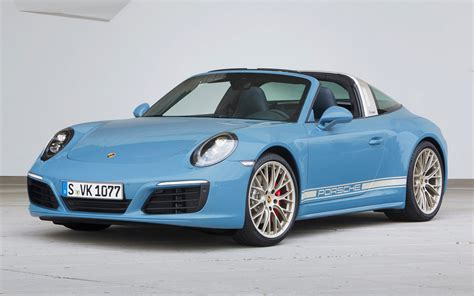 porsche  targa  exclusive design edition