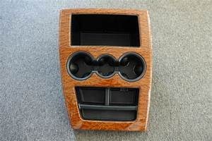 Rear Center Console With Woodgrain