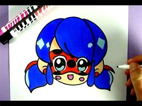 diy kawaii niedliche miraculous ladybug selber malen