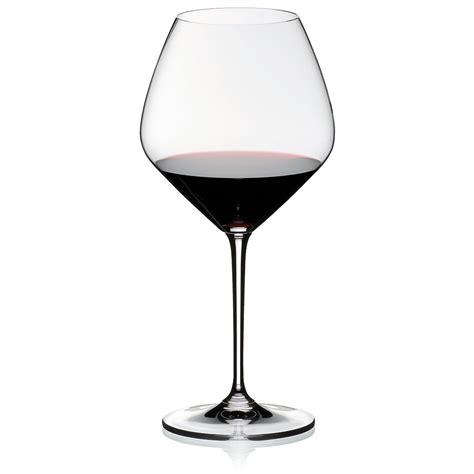 riedel barware riedel vinum pinot noir glasses set of 2 ebay
