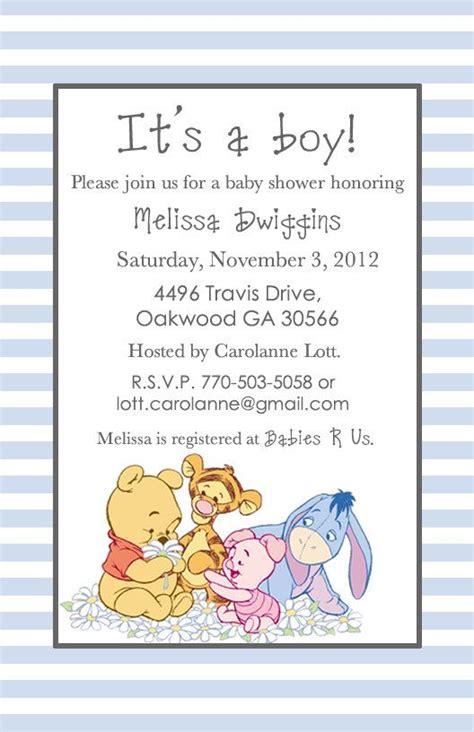 noahs ark baby shower free classic winnie the pooh baby shower invitations