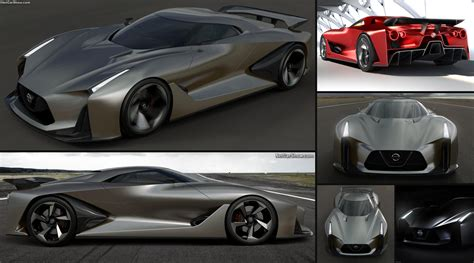nissan  vision gran turismo concept  pictures