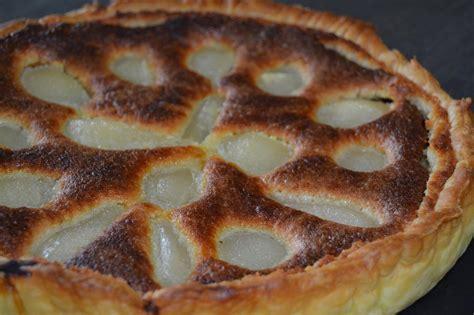 tarte aux poires chocolat amande recette de cuisine a z