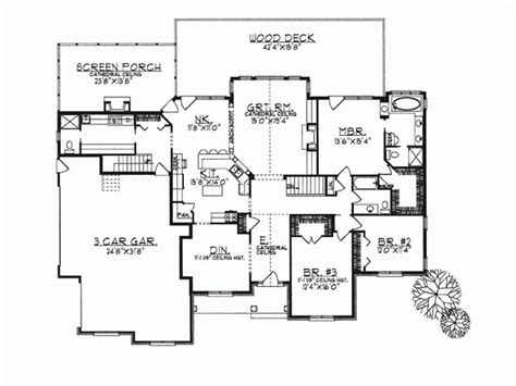 modern craftsman style house plans ranch home plans open concept cottage house plans