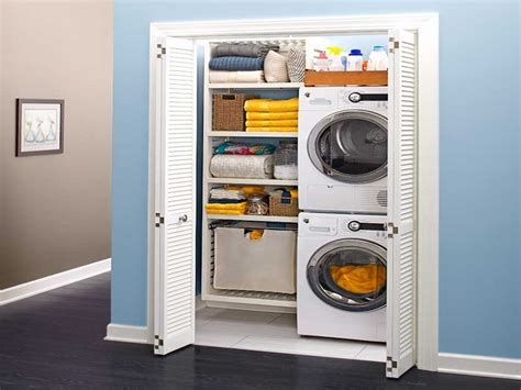 closet washer and dryer 5 tiny laundry areas to inspire you to build your own rl