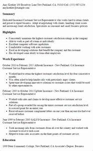customer service representative resume cover letter With customer service representative experience