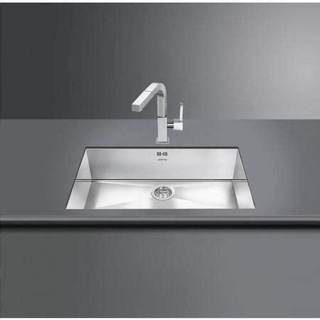 smeg vstq  quadra single rectangular undermount sink