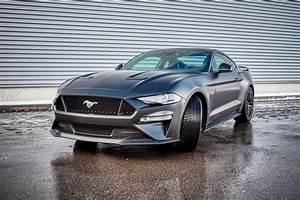 Ford Mustang - Black Satin wrap | Wrapstyle