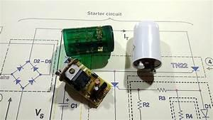 Fluorescent Tube Light Wiring Diagram