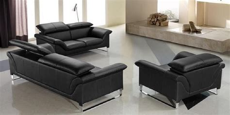 contemporary black leather sofa leather sofa set modern contemporary design 2018 2019