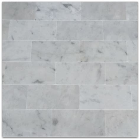 3x6 carrara marble tiles bianco carrara 3x6 subway marble tile polished