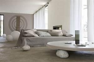 Peinture Blanc Gris : 64 couleurs peinture pour peindre salon chambre ~ Nature-et-papiers.com Idées de Décoration