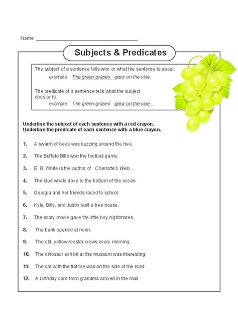 free grammar worksheets for highschool students