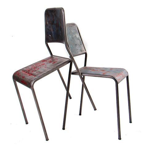 chaise en fil de fer chaise en fer industriel chaise haute en fer industriel camellia luxury chaise type industriel